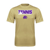 Performance Vegas Gold Tee-Tennis Player Design