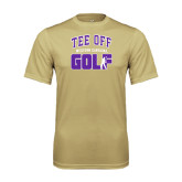 Syntrel Performance Vegas Gold Tee-Tee Off Golf Design