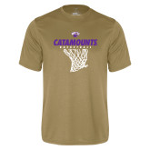 Syntrel Performance Vegas Gold Tee-Basketball Net Design