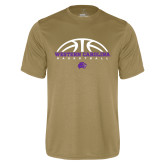 Performance Vegas Gold Tee-Basketball Half Ball