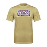Performance Vegas Gold Tee-Western Carolina Catamounts