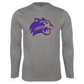 Performance Platinum Longsleeve Shirt-Catamount Head