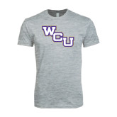 Next Level SoftStyle Heather Grey T Shirt-WCU
