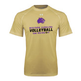 Under Armour Vegas Gold Tech Tee-Can You Dig It - Volleyball Design