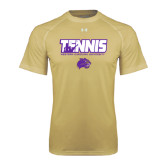 Under Armour Vegas Gold Tech Tee-Tennis Player Design