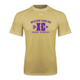Under Armour Vegas Gold Tech Tee-Cross Country Design