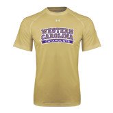 Under Armour Vegas Gold Tech Tee-Western Carolina Catamounts
