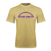 Under Armour Vegas Gold Tech Tee-Arched Football Design