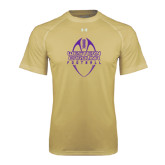 Under Armour Vegas Gold Tech Tee-Tall Football Design