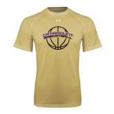 Under Armour Vegas Gold Tech Tee-Basketball Ball Design