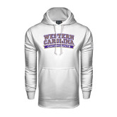 Under Armour White Performance Sweats Team Hood-Western Carolina Catamounts