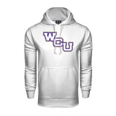 Under Armour White Performance Sweats Team Hood-WCU