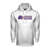 Under Armour White Performance Sweats Team Hood-Western Carolina Catamounts Side Logo