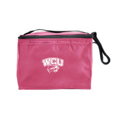 Six Pack Pink Cooler-WCU w/Head