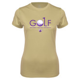 Ladies Syntrel Performance Vegas Gold Tee-Golf Flag Design