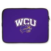 15 inch Neoprene Laptop Sleeve-WCU w/Head