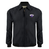Black Players Jacket-WCU w/Head