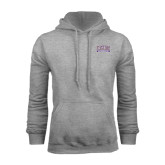 Champion Grey Fleece Hood-Western Carolina Catamounts