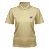 Ladies Vegas Gold Dry Mesh Polo-WCU w/Head