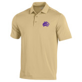Under Armour Vegas Gold Performance Polo-Catamount Head