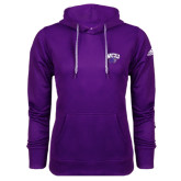 Adidas Climawarm Purple Team Issue Hoodie-WCU w/Head