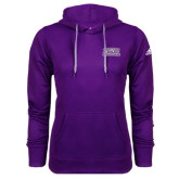 Adidas Climawarm Purple Team Issue Hoodie-Western Carolina Catamounts
