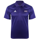 Adidas Climalite Purple Jaquard Select Polo-Western Carolina Catamounts