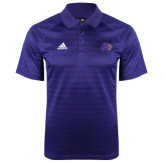 Adidas Climalite Purple Jaquard Select Polo-Catamount Head