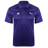 Adidas Climalite Purple Jaquard Select Polo-WCU