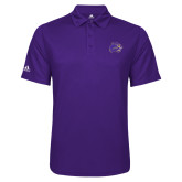 Adidas Climalite Purple Game Time Polo-Catamount Head
