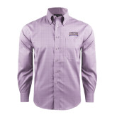 Red House Purple Plaid Non Iron Long Sleeve Shirt-Western Carolina Catamounts