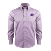 Red House Purple Plaid Non Iron Long Sleeve Shirt-Catamount Head