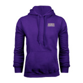 Purple Fleece Hood-Western Carolina Catamounts