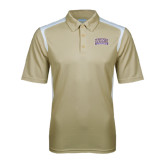 Vegas Gold Textured Gameday Polo-Western Carolina Catamounts