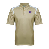 Vegas Gold Textured Gameday Polo-Catamount Head