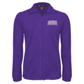 Fleece Full Zip Purple Jacket-Western Carolina Catamounts