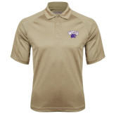 Vegas Gold Textured Saddle Shoulder Polo-WCU w/Head