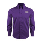Red House Purple Long Sleeve Shirt-Western Carolina Catamounts
