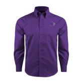 Red House Purple Long Sleeve Shirt-Catamount Head