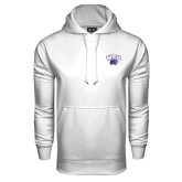 Under Armour White Performance Sweats Team Hood-WCU w/Head