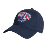 Navy Heavyweight Twill Pro Style Hat-Stars and Stripes