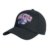 Black Heavyweight Twill Pro Style Hat-Stars and Stripes