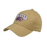 Vegas Gold Heavyweight Twill Pro Style Hat-WCU w/Head