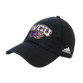 Adidas Black Slouch Unstructured Low Profile Hat-WCU w/Head