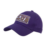Purple Heavyweight Twill Pro Style Hat-Catamount Club