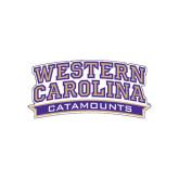 Medium Magnet-Western Carolina Catamounts, 8 in W