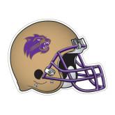Football Helmet Magnet-Catamount Head
