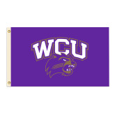 3 ft x 5 ft Flag-WCU w/Head