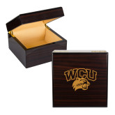Wooden Jewelry Box-WCU w/Head Engraved