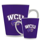 Full Color Latte Mug 12oz-WCU w/Head